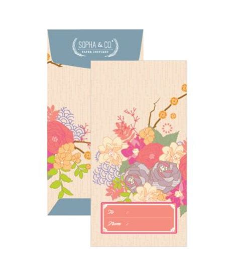 Custom Angpao modern money envelope quot angpao quot design money envelopes