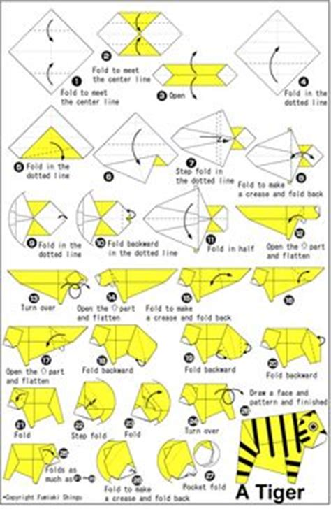 Origami Tiger Diagram - tiger stores inspiration the origami frog fallegt