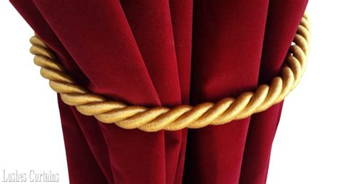 curtain cord large gold window decor curtain drape 36 quot long thick rope