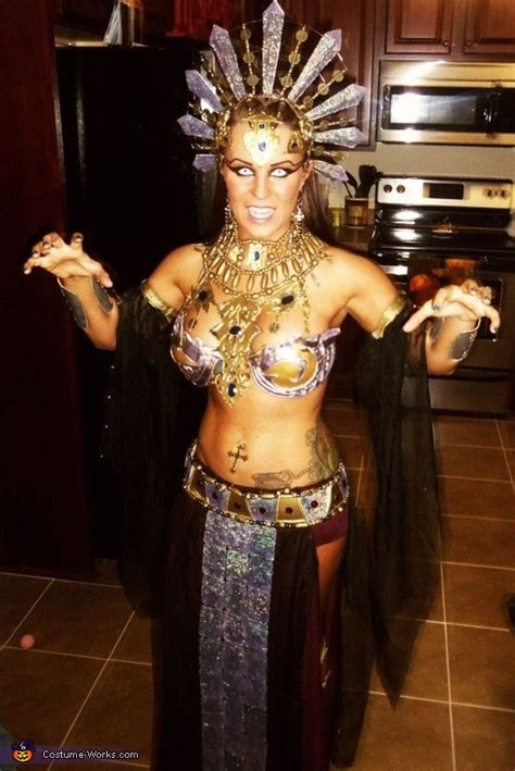 akasha queen   damned costume homemade