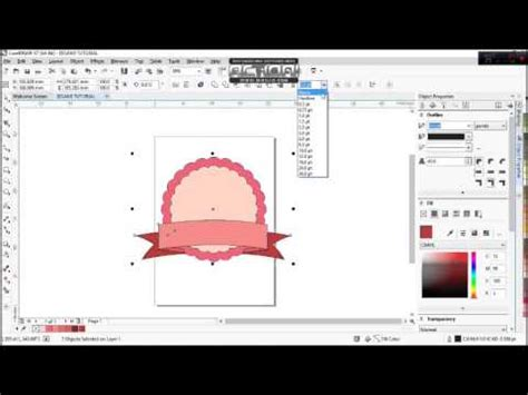 membuat online shop sederhana eegami coreldraw tutorial cara membuat cute badge logo