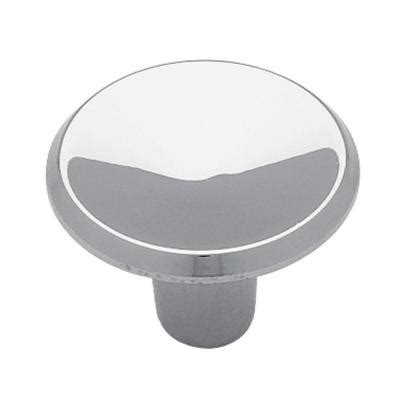 liberty 1 in polished chrome concave cabinet knob