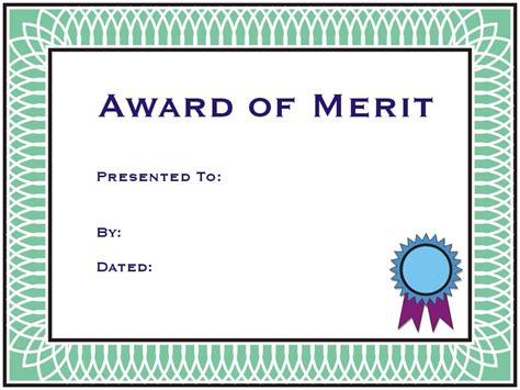 28 merit certificate templates top 5 free merit