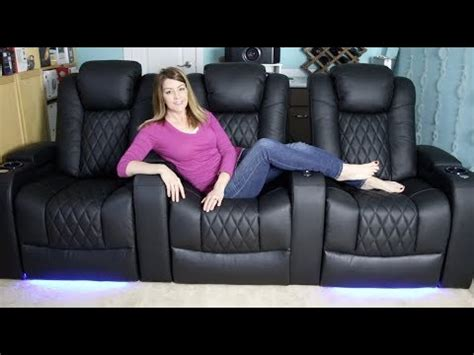 valencia tuscany home theatre seating blogger review youtube