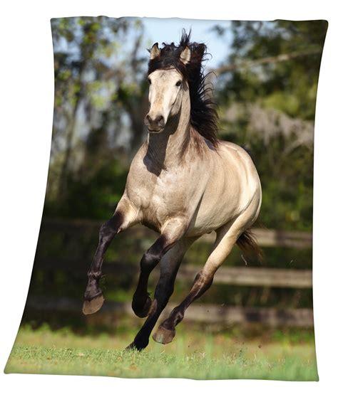 kuscheldecke pferd 130x160 cm kaufen angela bruderer