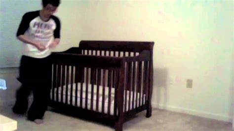 How To Put Together A Baby Crib How To Put A Crib Together In 5 Seconds
