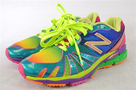 colorful athletic shoes new balance wr890rg 890 barringer rainbow running
