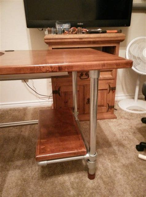 building a gaming desk 316 best images about pipe desks on pinterest desk plans