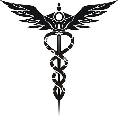 medschool shirt logo caduceus by geargrinder on deviantart
