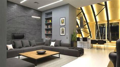 decoracion moderna contemporanea de salas grises - Decoracion Moderna