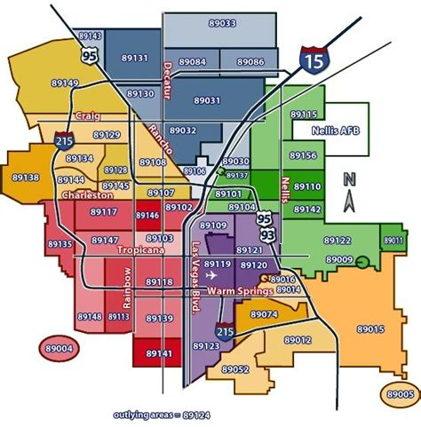 us area code las vegas zip code map las vegas map3