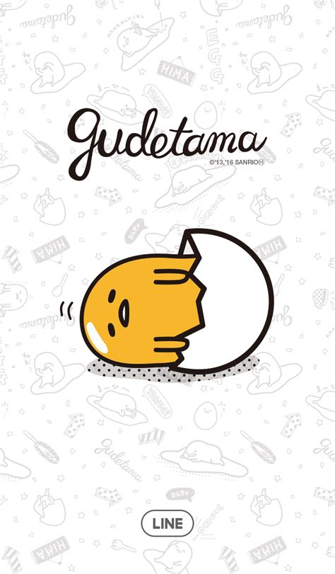 theme changer line gudetama cm hacked update new line theme shop 23 08 2016