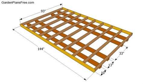 lean to shed plans free free garden plans how to build