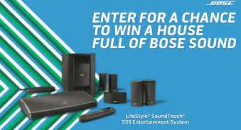 Free House Sweepstakes - free house full of bose sound sweepstakes myfreeproductsles com