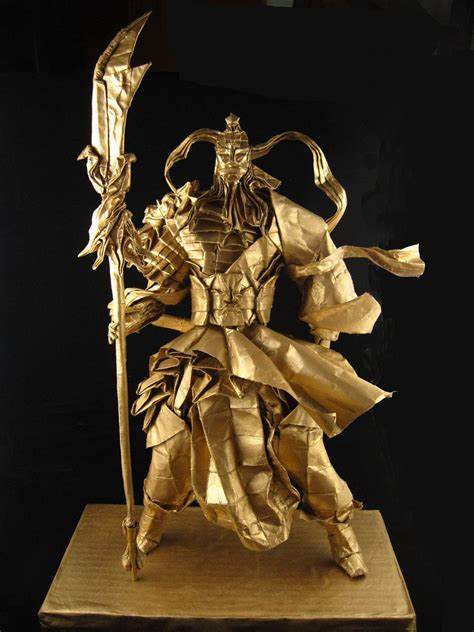 Origami Samurai Warrior - guanyu 1 5