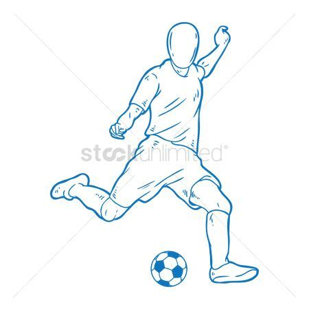Soccer Kicking Net free kicking stock vectors stockunlimited
