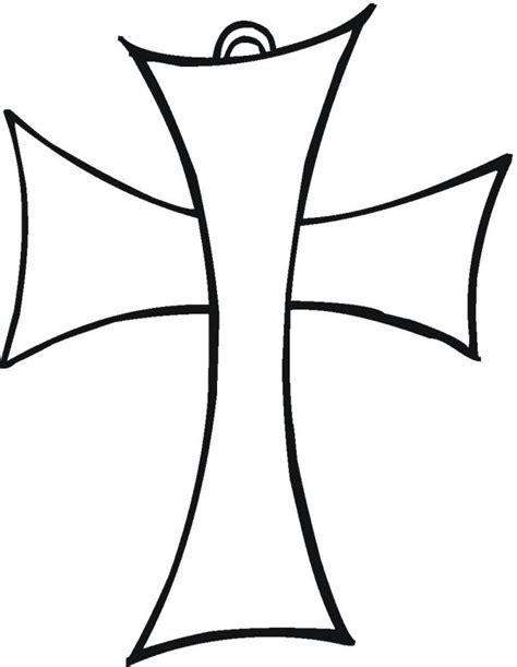 Free Religious Coloring Pages Coloring Page Of A Cross