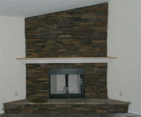 stone corner fireplace fabricated stone veneer fireplaces ocala stone finish
