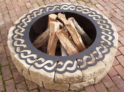 Firepit Ring Pit Rope Ring