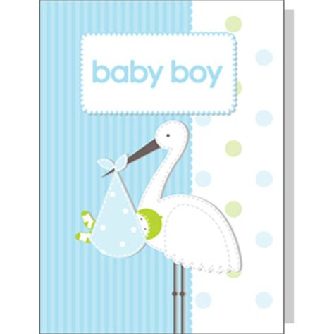 new baby greeting card template baby boy greeting card