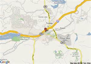 truckee california map map of best western truckee tahoe inn truckee