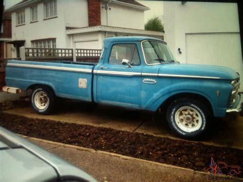 ford f250 1965 fleetside truck