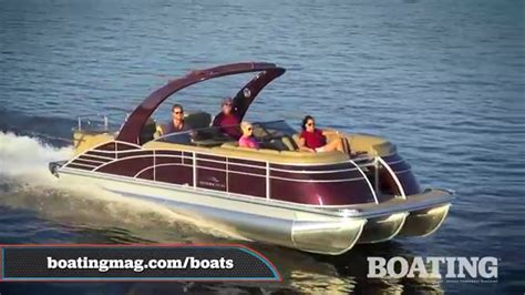 bennington pontoon boat test 2016 bennington 2552 qcwwa io 25 pontoon boat test youtube