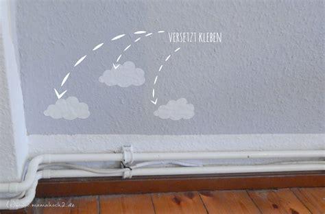 kinderzimmer gestalten wand kinderzimmer ideen 1 wolkenwand tutorial plotter