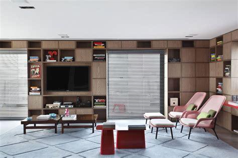 Big Book Shelf by Big Book Shelf With Lcd Tv Interior Design Ideas
