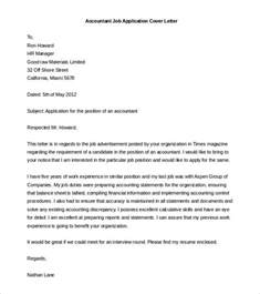 Free Cover Letter Sle For Application by Free Cover Letter Template 52 Free Word Pdf Documents