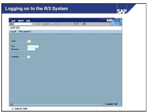 sap abap tutorial with screenshots sap abap with screenshots sap logon
