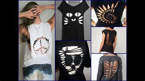 Cool Idea Clothuk by 30 Best Diy T Shirt Cutting Ideas For Diy Clothes