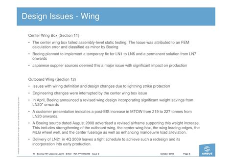 striking imbalance of rights lessons learnt from us and b787 lessons learnt