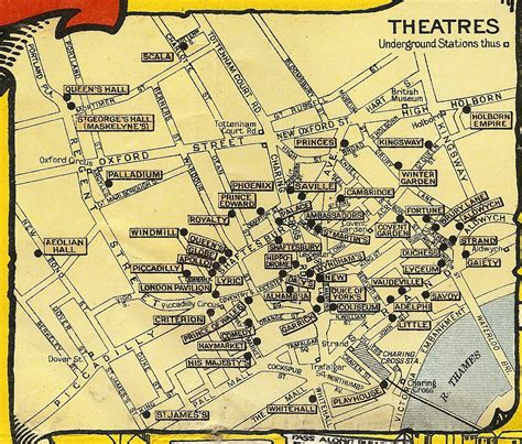 london s theatre district is located in which section of london mappa moo di moo de fl 226 neur s map collection