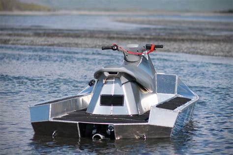 jet ski river boat alumaski aluminum jet ski hiconsumption