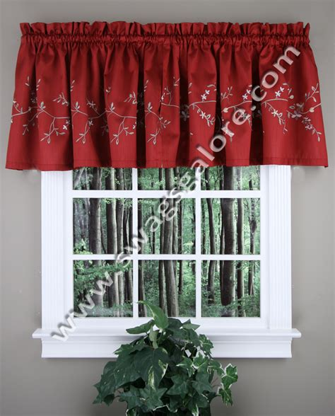 Kitchen Curtains Burgundy Valance Burgundy United Curtains Kitchen