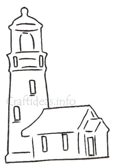 lighthouse template craft lighthouse template d