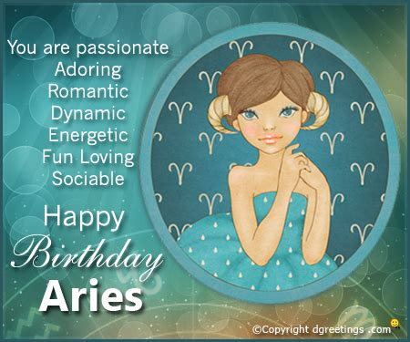 aries birthday horoscopes