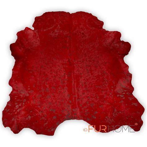 Cowhide Shaped Rug Dyed Large Cowhide Rug In Animal Shape Fur Home