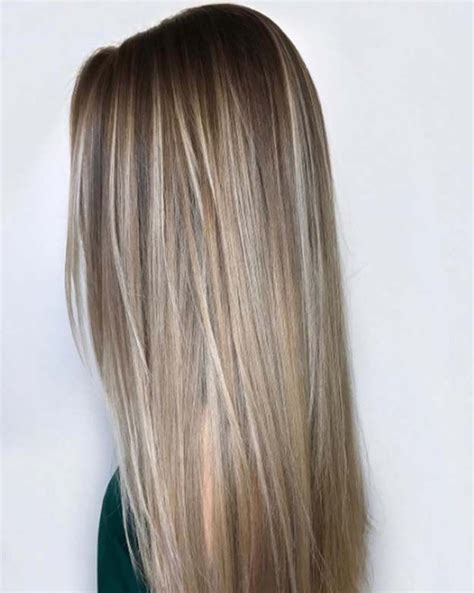 light blonde highlights on dark blonde hair trendy hair highlights balayage high lights to copy
