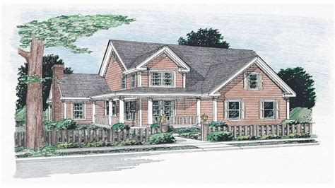 floor plans aflfpw13992 1 story farmhouse home with 4 one story farmhouse plans with split bedrooms simple one