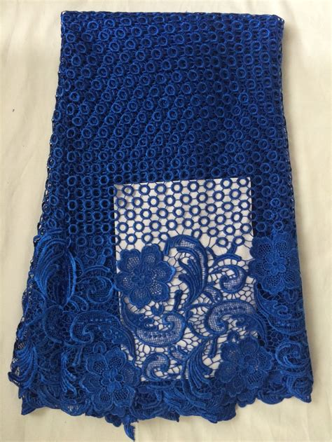 Aigner Sunflower Fashion Blue Coulor Diskon dk 80815 fashion cord lace fabric embroidery gupure lace fabric in royal blue color in