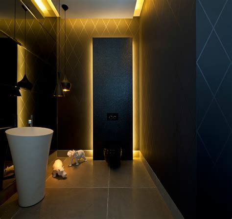 Bathroom Powder Room Ideas luxury villa in israel modern powder room other