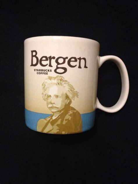 fjord kaffee starbucks bergen norway global icon city mug collector new