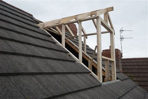 Shed Dormer Construction by Outside View Of Dormer Construction Attic Conversions