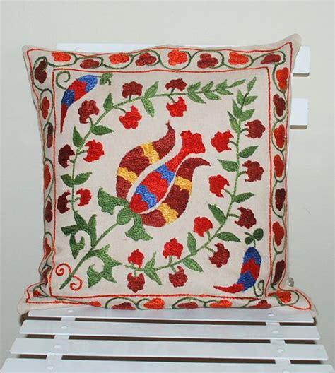 uzbek vintage suzani handmade embroidery sew et al pinterest 156 best suzeni images on pinterest cushion pillow