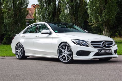 mercedes bench carlsson tunes the amg version of mercedes benz c class