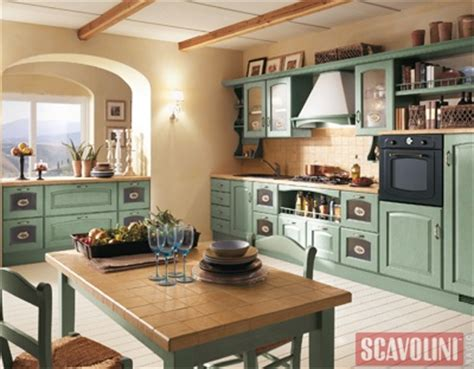 U Shaped House Design colorful kitchen cabinets with tan walls just takes a
