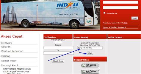 cek resi index cargo cara cek nomor resi indah cargo logistik cara cek terbaru