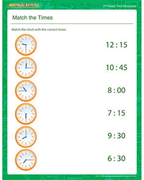 printable clock matching game time worksheets 187 time worksheets for kindergarten free